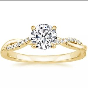 925 Silver Gold Ring